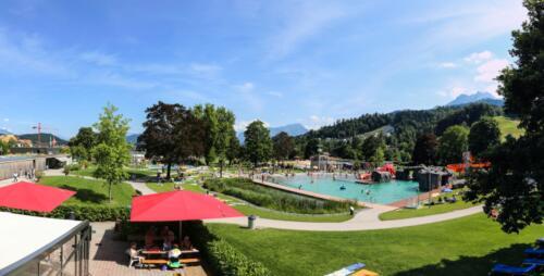 Parkbad Schwimmbecken